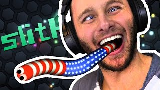 Slither.io   TAKE THE NUMBER 1!!