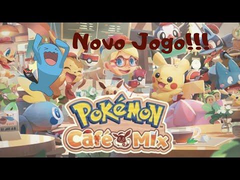 Pokémon Café Mix Novo Jogo!!!