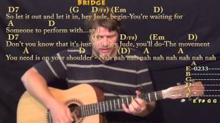 Gambar cover Hey Jude (The Beatles) Strum Guitar Cover Lesson with Chords/Lyrics