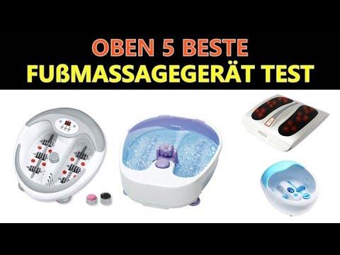 Beste Fußmassagegerät Test 2019
