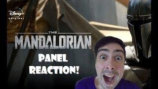 Star Wars: The Mandalorian PanelNew Trailer Reaction!