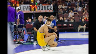 Chase Saldate's Last Match As A Gilroy Mustang (CA State Tournament)
