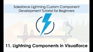 Salesforce Lightning Development Tutorial - Lightning Components in Visualforce