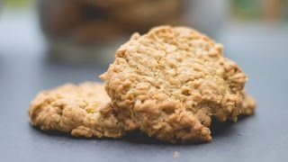 oatmeal chocolate chip cookies made with coconut flour