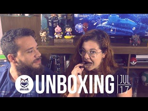 Unboxing - Clube Skoob Julho/2017