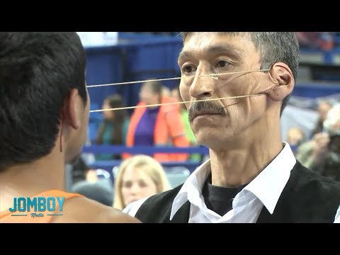 Ladies and gentlemen, I present to you the 2012 Ear Pulling Contest featuring the Stone Cold Killer himself!