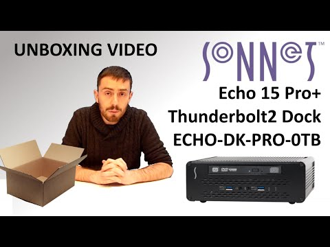 Sonnet Echo 15 Thunderbolt 2 Dock - Unboxing