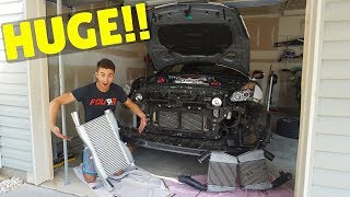 Installing A MASSIVE MOD On My Nissan GT-R!!