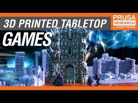 Awesome 3D Printed Tabletop Games and Accessories