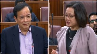 "MP Sylvia Lim to Charles Chong: ""What is he complaining about?"" - 100317"