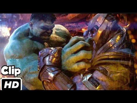 Hulk VS Thanos (Hindi) | Avengers Infinity War| Fight Scene | Movie Clip HD