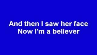 Smash Mouth - I'm a Believer (Lyrics) (Shrek)