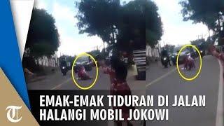Viral Emak-emak Tiduran di Jalan Halangi Mobil Jokowi, Ini Penjelasan dari Kabid Humas Polda NTB