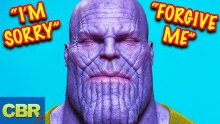Thanos Will Redeem Himself In Avengers Endgame (Marvel Theory)