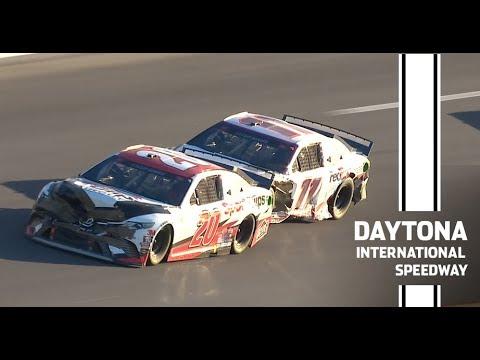 NASCAR アドバンス・オート・パーツ・クラッシュデイトナハイライト動画
