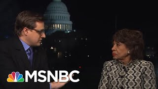 New Finance Chair Maxine Waters On Investigating President Donald Trump | All In | MSNBC