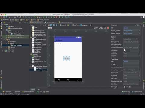 دورة اندرويد Android 1- ★بناء التطبيق الأول ||  First app in Android