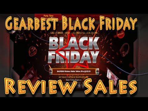 Review: Gearbest Black Friday Sales!!! (11.22.2017)