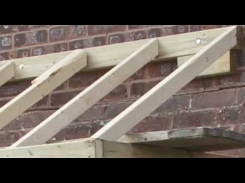 How to do a small pitched roof