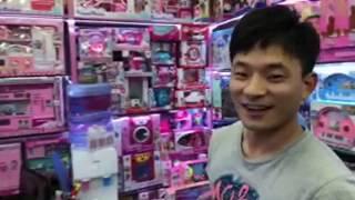Игрушки - оптовый рынок в Иу Китай