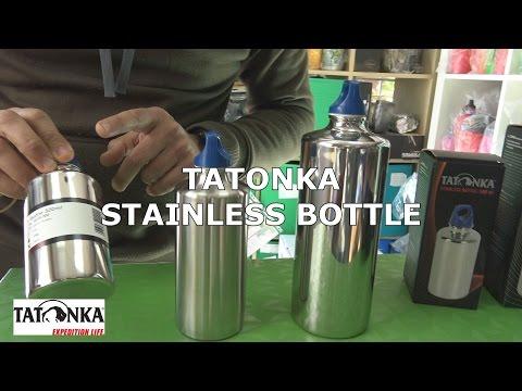 Botellas Acero Inoxidable Tatonka