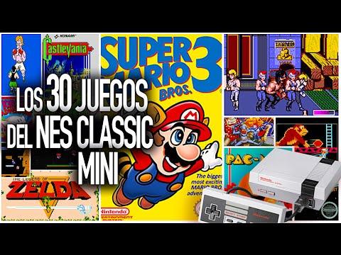 Nintendo Nes Mini Classic Los 30 Juegos