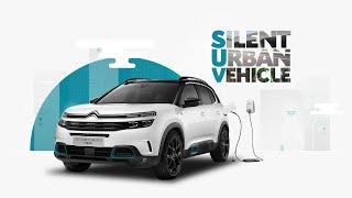 [오피셜] Citroën C5 Aircross SUV Plug-In Hybrid in 100% electric mode: no sound, zero CO2 emissions