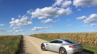 Here's What It's Like to Drive an Exotic Car in the Middle of Nowhere