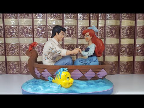 Disney traditions by Jim Shore  Ariel & Eric - The Little Mermaid
