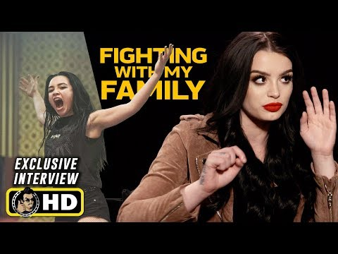 Saraya-Jade Bevis AKA Paige Interview for Fighting With My Family