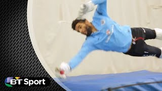 David James Amazing Wicket-keeping | BTSP