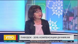 Паводок-2019. Компенсации дачникам. Утро с Губернией. 22/01/2019