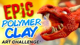 EPIC POLYMER CLAY ART CHALLENGE!