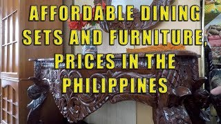 Affordable Dining Sets And Furniture, Prices In The Philippines.