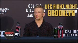 TJ Dillashaw Post-Fight Press Conference | UFC Fight Night: Brooklyn | ESPN MMA