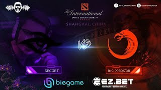 TNC Predator vs Secret Game 2 | Group Stage | The International 9