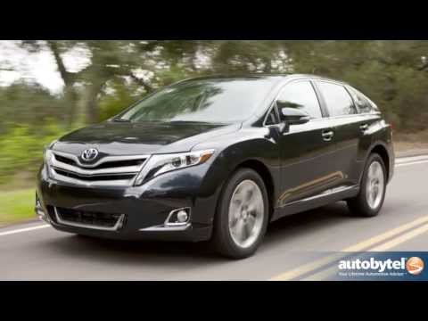 2013 Toyota Venza Crossover Video Review