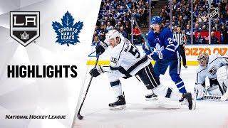 NHL Highlights   Kings @ Maple Leafs 11/05/19