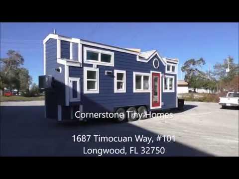 Indigo Escape by Cornerstone Tiny Homes