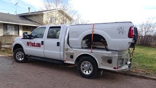 CM truck beds, factory review and install aluminum flatbed
