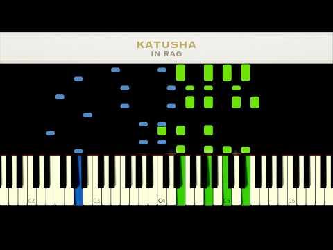 Katyusha - Russian Song [Piano Tutorial +Midi   Sheet] - игровое