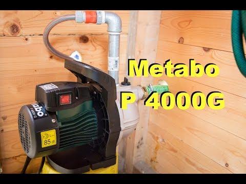Metabo Gartenpumpe P 4000G / Wasserpumpe /