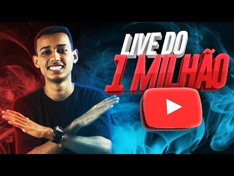 🔥 LIVEZINHA DE 1MILHAO 🔥 OBRIGADO POR TUDO 🔥 ft. EL GATO