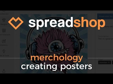 Thumbnail - Poster Launch | Creating a Poster with Spreadshop