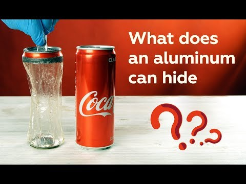 The secret of the aluminum can: what is it hiding?