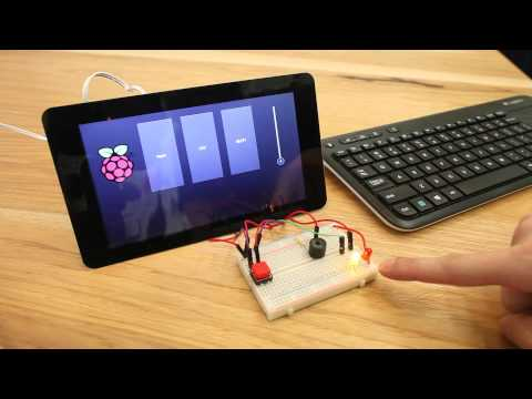 Use Kivy to create a touchscreen GUI on the Raspberry Pi