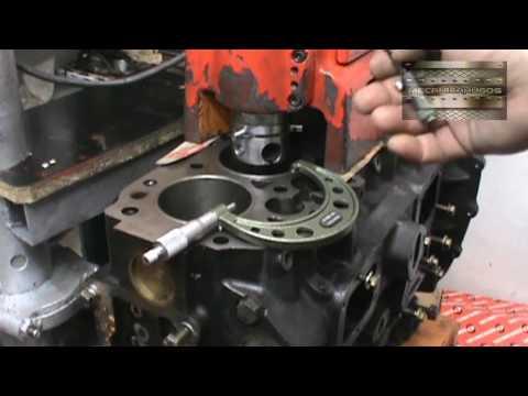 rectificado de cilindros ( encamisado con maquina portátil ) .part 1