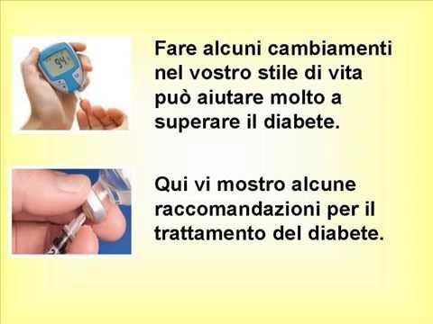 Reparto di prodotti per diabetici