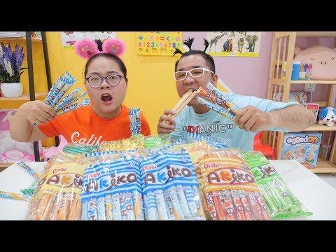 Thử Thách Ăn Snack Oishi Akiko & Cái Kết - Lớp Học Mầm Non Nhí Nhố