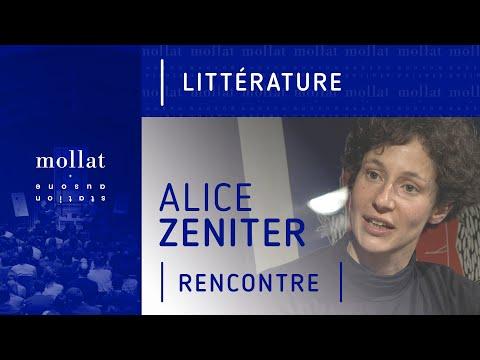 Vidéo de Alice Zeniter